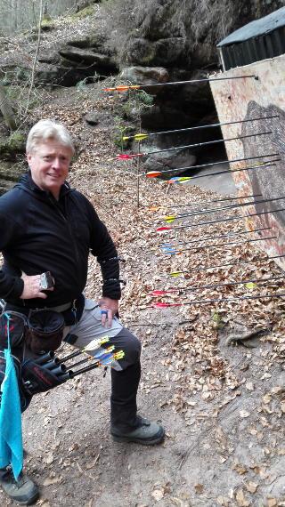 Richard Klesmann auf dem 42. Internationalen Feld- und Jagdturnier in Dahn