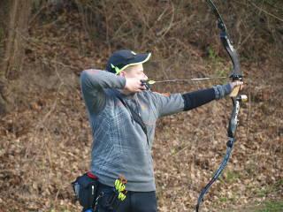 Hannes Hecht auf der Landesmeisterschaft Feld/Wald