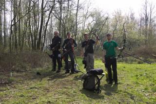Lustige Gruppe bei den 3D Masters in Brokeloh