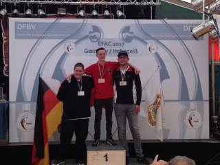 Bronze für Daniel Eisele auf der EFAC IFAA in Hohegeiß 2017