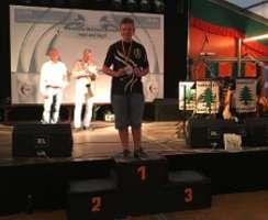 Hannes Hecht wird Europameister Feldbogen mit neuem Weltrekord!