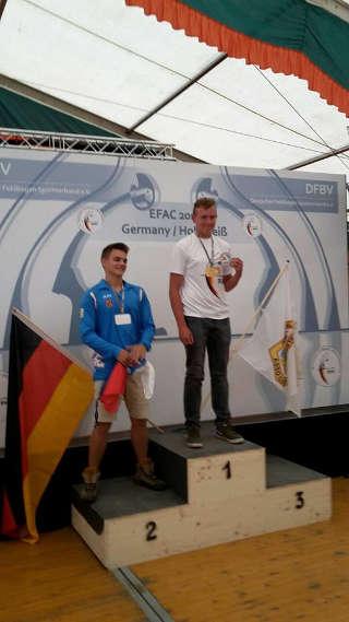 Verdienter Sieg der Europameisterschaft für Justus Poggensee mit drei neuen Europa- und Weltrekorden