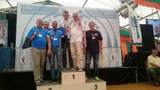 Auch mit der Mannschaft Gold für Justus Poggensee bei der EFAC IFAA