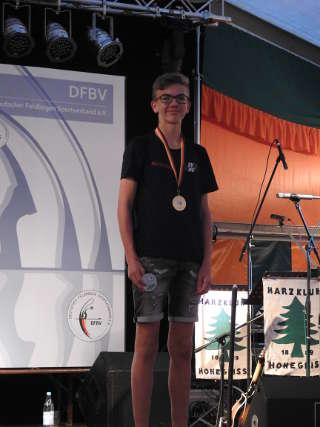 Mika Kochanowski - neuer Deutscher Meister Feld und Jagd und Vize-Europameister