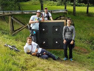 Nils Gruppe hatte eindeutig Spaß in den Parcours' der EFAC