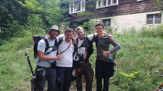 Wenn aus Fremden Freunde werden... Nils Noack mit seiner Gruppe auf der EFAC