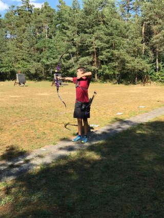 Nils Noack auf der Kreismeisterschaft Fita im Freien