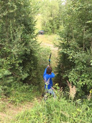 Wo ist das Ziel? Es wurde Daniel bei der BHL in Landsberg nicht leicht gemacht...