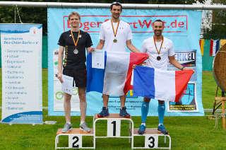 Die Sieger der Langdistanz des Europacup Bogenlaufen