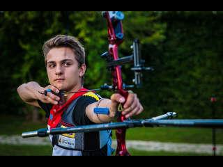 Moritz Wieser hat das Ziel fest im Blick beim European Youth Cup in Porec