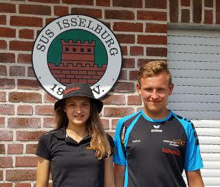 Annika Rennett traf in Isselburg auf Justus Poggensee