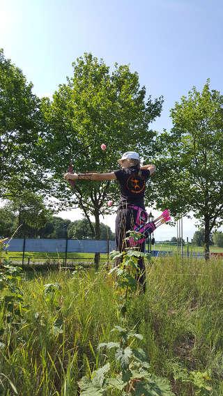 Annika Rennett auf dem Sommerturnier in Isselburg