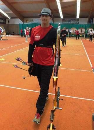 Hannes Fuhrmeister ging beim Erfurter Schittchenturnier an den Start