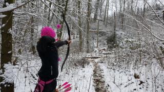 Annika Rennett beim Winterturnier in Mühlheim a.d.R.