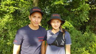 Annika Rennett traf auf der LVM WA im Freien des RSB Teamkollegen Noah Pop