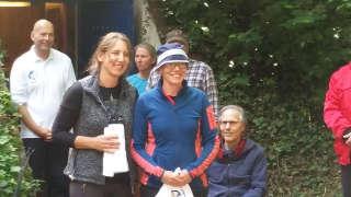 Daniela Klesmann freute sich ebenfalls über ihren 3. Platz beim Arrowhead-/Ranglistenturnier