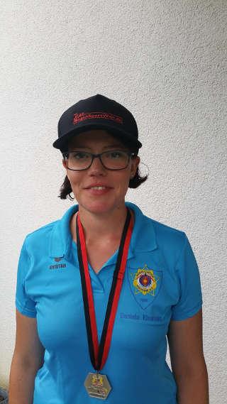 Daniela Klesmann mit Silbermedaille der LM im Freien (720 WA)