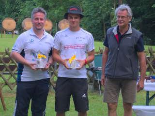 Recurveschütze Jakob Hetz wurde Erster beim Sonnwendturnier
