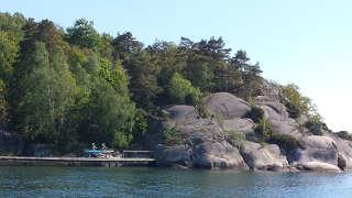 Da ist ja die Scheibe! Wundervolle Landschaft in Lilla Brattön
