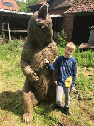 Gut gebrüllt, Bär! Schönes Ziel auf der LM 3D in Hessen 2017