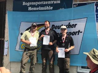 Ein Wettkampf wie geschnitten Brot: David Ris wird Landesmeister 3D Hessen