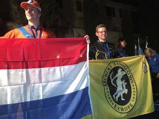 Hannes Hecht wird Worldchampion in der Klasse YAMBBR 2017
