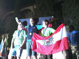 Gold für Justus Poggensee bei den WBHC 2017 in Italien - neuer Weltmeister YAMBHR!
