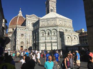 Sammelplatz an der Kathedrale Santa Maria del Fiore