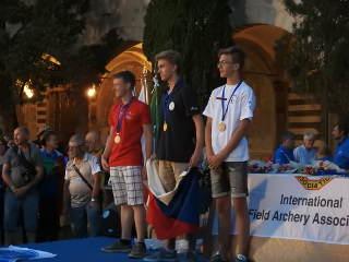 Mika Kochanowski wurde für seine Leistung auf der WBHC in Italien mit Bronze belohnt!