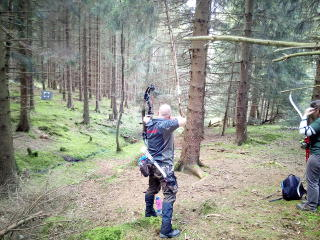 Ronny Schmidt auf der LM Feld Wald des BBSA in Hasselfelde
