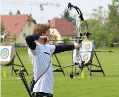 Leon Hollas beim Pokalwettkampf in Dresden