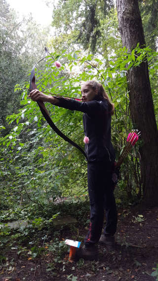 Annika gewann das 6. Freilichtbühnenturnier in Mühlheim souverän