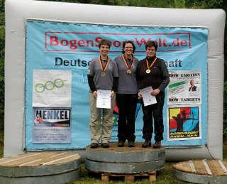 Gold für Daniela Klesmann bei der DM Feld und Wald in Hornburg