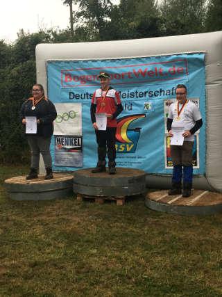 Marten Hecht holte Doppelgold auf der DM Feld und Wald in Hornburg