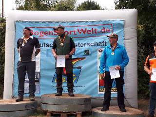 Gold für Heiko Kirchner bei der DM Feld und Silber bei der DM Wald