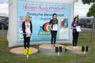 Jona Sophie Müller, neue Deutsche Meisterin u12w auf der DM der Jugend des DBSV in Lindenberg