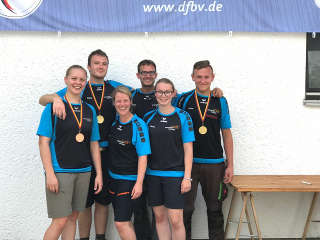 Justus Team der Bogensport Akademie war ebenfalls sehr erfolgreich vertreten