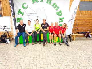 Franz Reinprecht mit weiteren Bogenschützen in Österreich auf dem Krumphof bei der Staatsmeisterschaft WA 3D