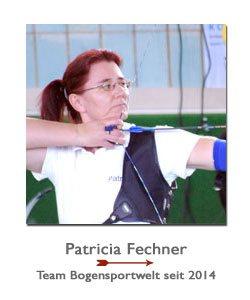 Bogenschützin Patricia Fechner bei der BogenSportWelt.de