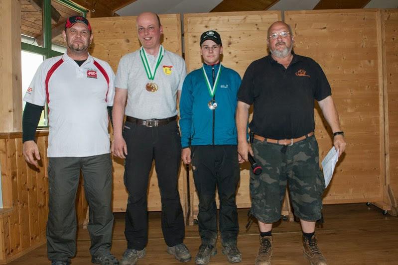 Compoundschütze Fabian Ulz erzielt eine Silbermedaille beim 11. 3D Turnier in Semriach 2015