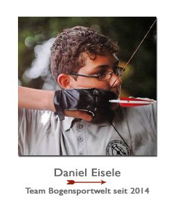Recurvebogenschütze Daniel Eisele