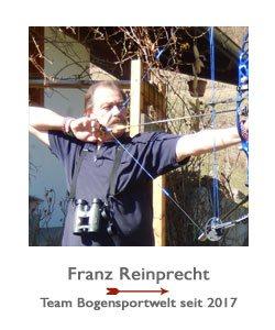 Compoudnbogenschütze Franz Reinprecht
