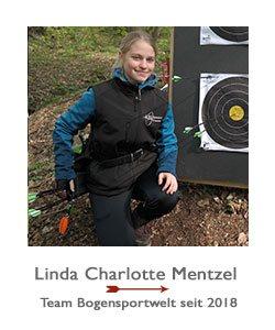 Compoundbogenschützin Linda Charlotte Mentzel