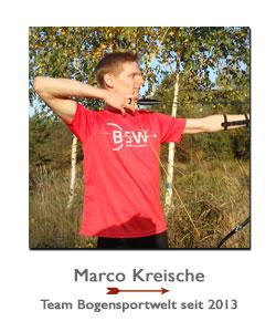 Marco Kreische im Team BogenSportWelt.de