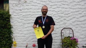 Recurveschütze Stefan Voß bei der Landesmeisterschaft 3D des BVBA 2015