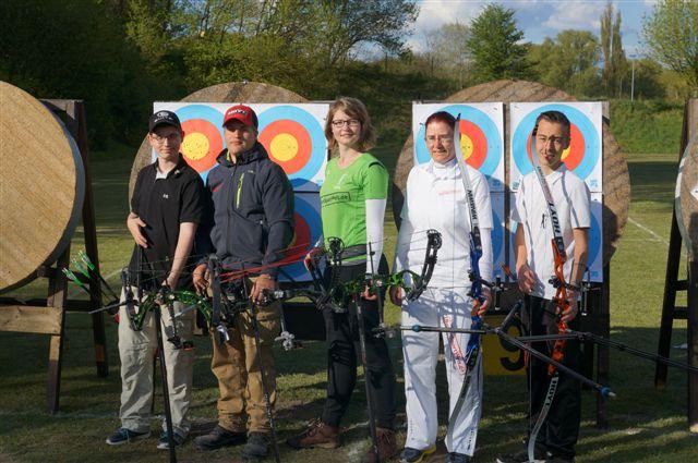 Die BSW-Sponsoring-Schützen beim 25. Strauspokal 2015