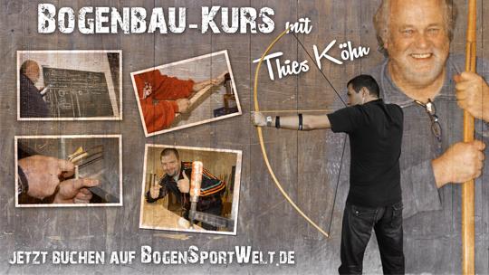 Bogenbau mit Thies Köhn in der BogenSportWelt.de