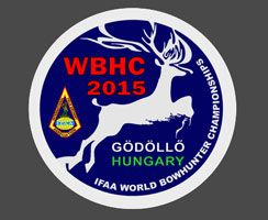Logo World Bowhunter Championships 2015 Gödöllö, Ungarn