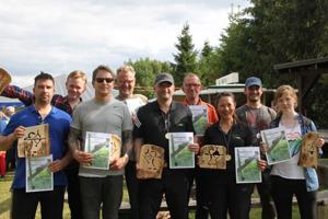 Compoundschütze Michael Miraky holt den ersten Platz bei der Landesmeisterschaft M-V 2015 in Groß Niendorf