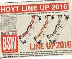 Hoyt Compound Lineup 2016 - jetzt bestellen